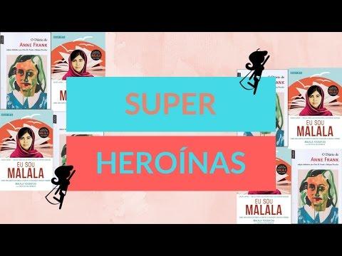 Anne Frank e Malala - Heroínas da vida real | Biografias e Afins por Tamy Pinheiro