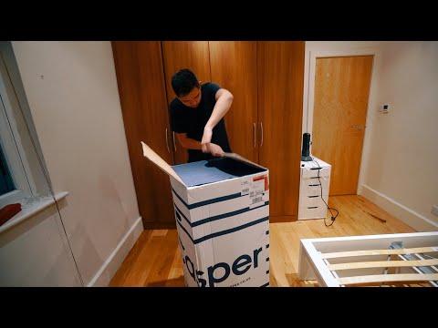 CASPER MATTRESS UNBOXING & IKEA MALM BED BUILDING