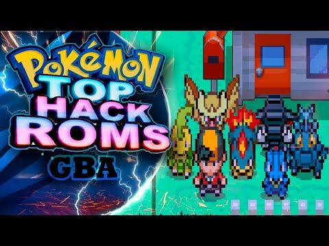 pokemon gba rom hacks 2018 with mega evolution