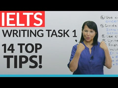 IELTS General: Writing Task 1 – 14 Top Tips! - YouTube