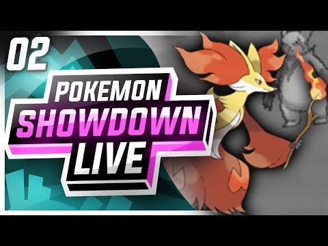 DELPHOX BURNS THE COMPETITION! • Pokemon Showdown Live [NU]