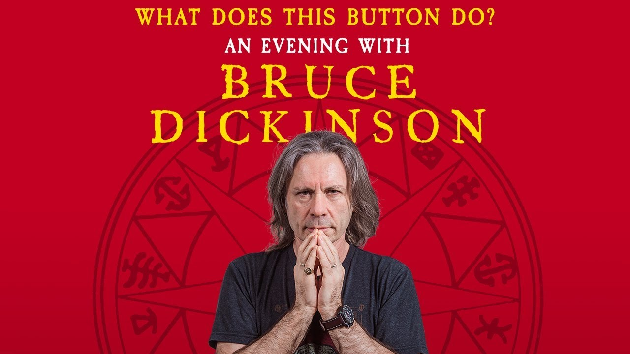 An Evening With Bruce Dickinson — 2019 Tour