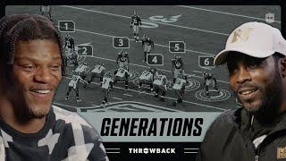 Lamar Jackson & Michael Vick Are Athletic FREAKS   NFL Generations