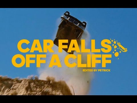 Car Falls Off A Cliff