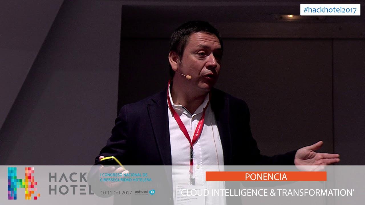 11/10/2017 – 10:15 h. Ponencia 'Cloud & intelligence transformation'