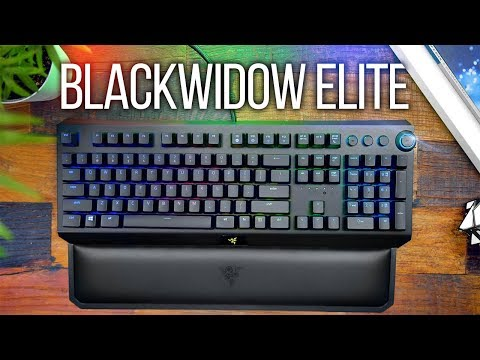 Razer Blackwidow Elite Keyboard Review!