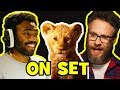 Behind The Scenes on THE LION KING Voice Cast Songs s Bloopers