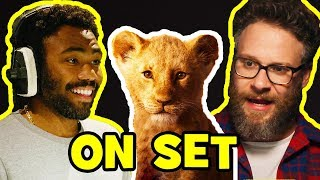 Behind The Scenes on THE LION KING - Voice Cast Songs, Clips & Bloopers