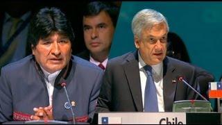 El cruce de palabras entre Piñera y Morales en la Celac | Kholo.pk