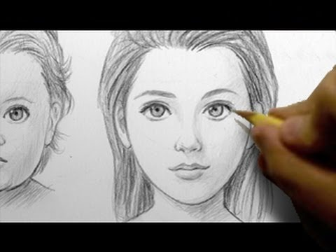 How to Draw Babies, Teens, & Adults [FEMALE]
