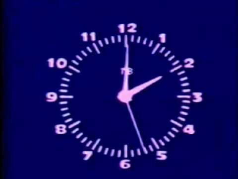 Помогите опознать телевизионные часы!