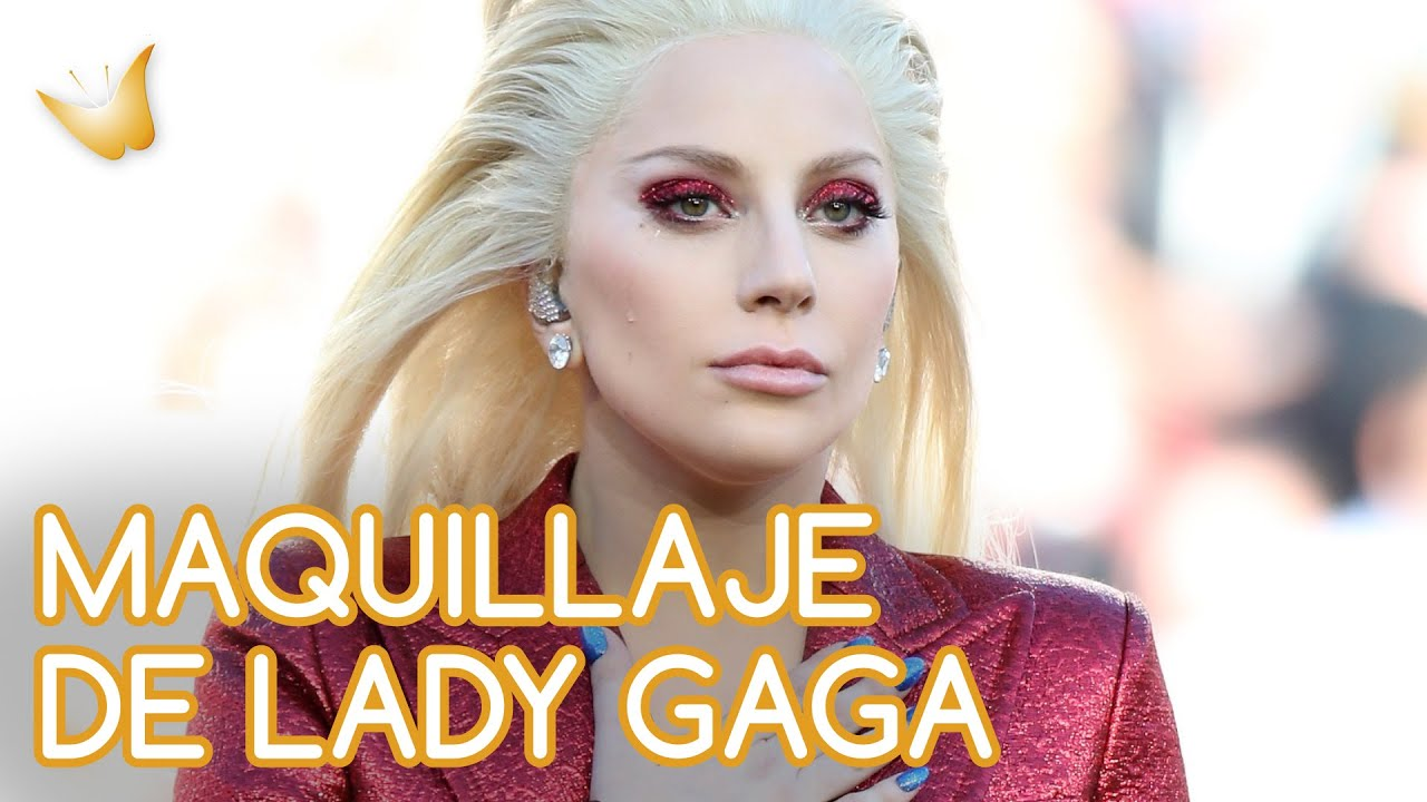 Lady Gaga | Cómo hacer un maquillaje de ojos glitter paso a paso