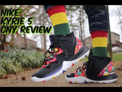 d298233904c0 NIKE KYRIE 5 CHINESE NEW YEAR CNY REVIEW   GAS ON FEET!! - Free video  search site - Findclip
