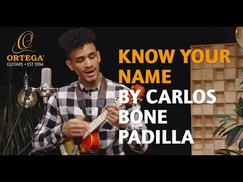 Carlos Bone Padilla   Know your name   Ortega Guitars live session