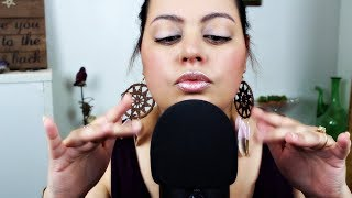ASMR| Hand Sounds - Finger Fluttering, Clapping, Snapping, Rubbing and Pinching