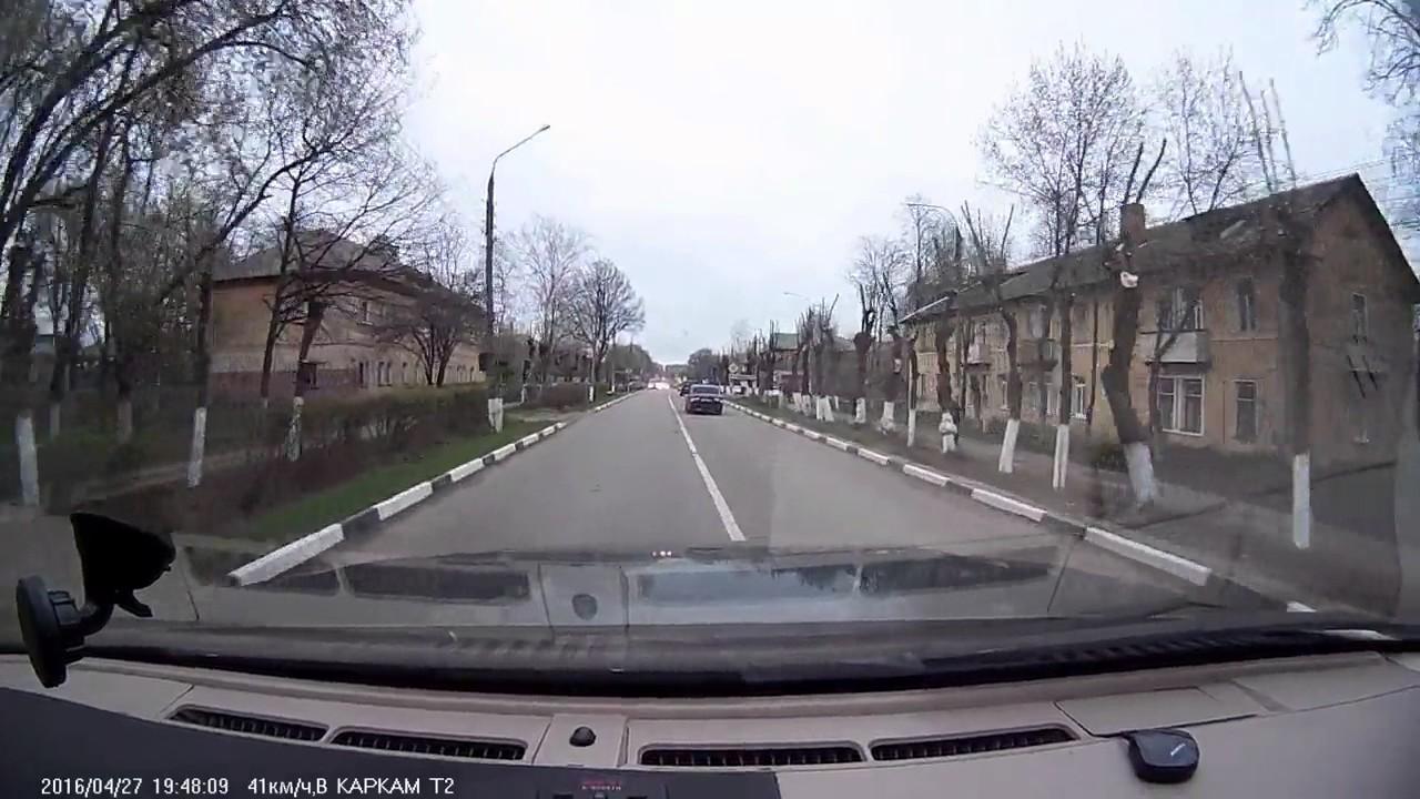 Дорожный учитель устроил ДТП