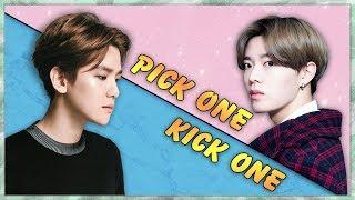 Pick One Kick One Pt.7 Kpop Game