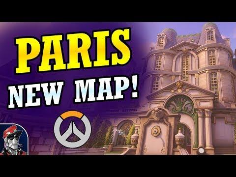 鬥陣特攻新地圖 - 巴黎
