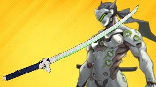 Genji Overwatch   Dragon Blade Katana   How To Make Ninja Genji's Sword