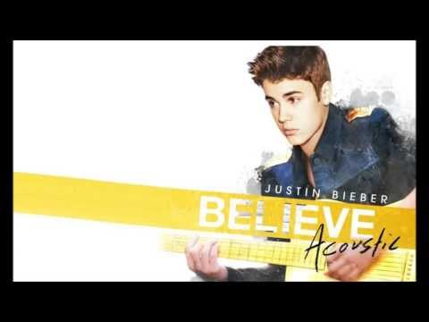 Justin Bieber - All Around The World Acoustic  (Backing Vocals Instrumental)