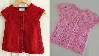 Very Beautiful And Stylish Hand Knitting Baby Sweaters Designs