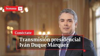 Presidente Iván Duque Informa A Colombia Sobre Pandemia Y Cuarentena