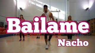 Bailame   Nacho (Letra) Version Cumbia GLM Super Kumbia Zumba
