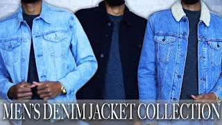 MENS DENIM JACKET COLLECTION | MENS STYLE