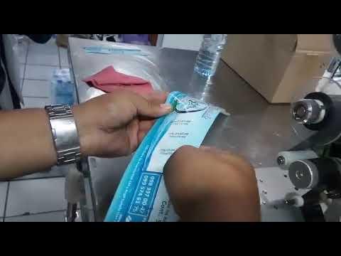 fechadora semiautomática cinta térmica - impresión etiquetas plásticas.