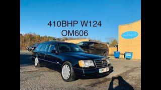 410BHP MERCEDES W124 OM606 + BMW 6 SPEED