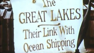 Great Lakes Shipping Route: Welland Canal and St. Lawrence Seaway