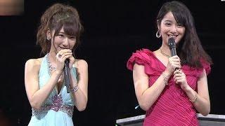 AKB48柏木由紀佐々木希に公開処刑される黒服物語応援登場20140917SKE48NMB48HKT48
