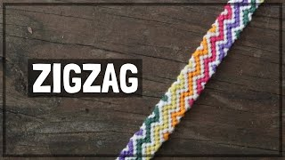Zigzag Friendship Bracelet Tutorial