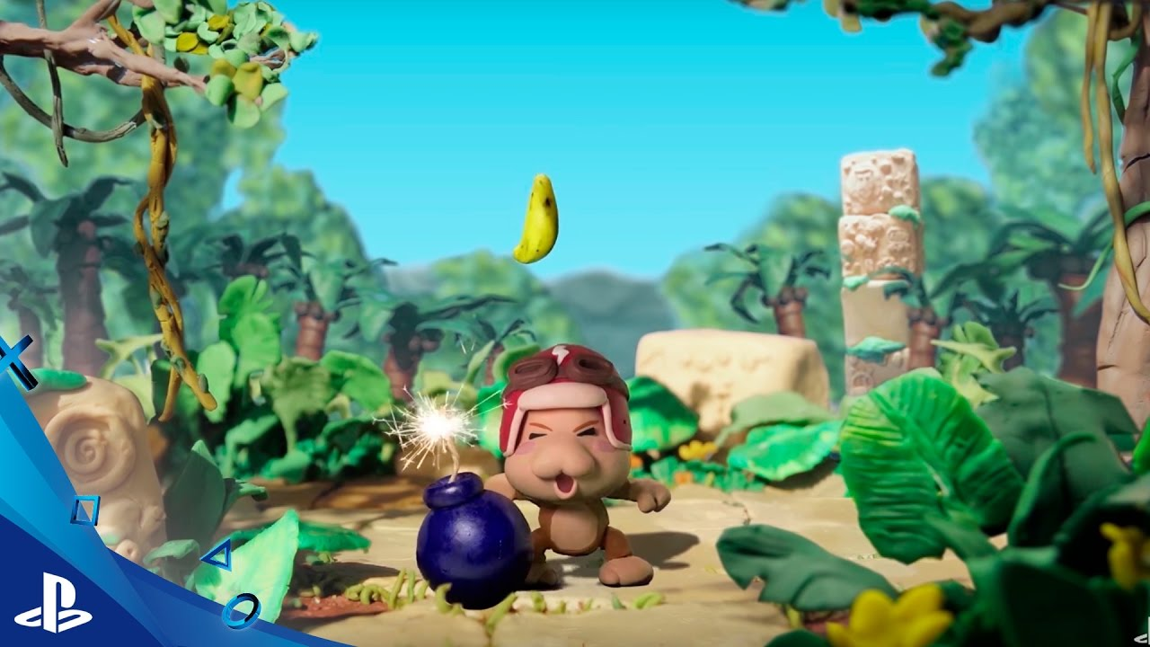 El colorido juego de plataformas Baboon! llega a PS4 esta semana