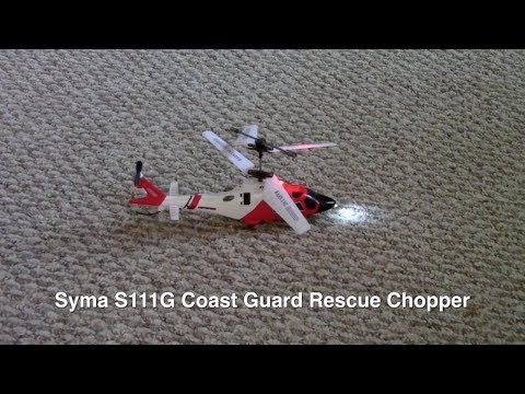 Syma S111G Remote Control Helicopter Flight