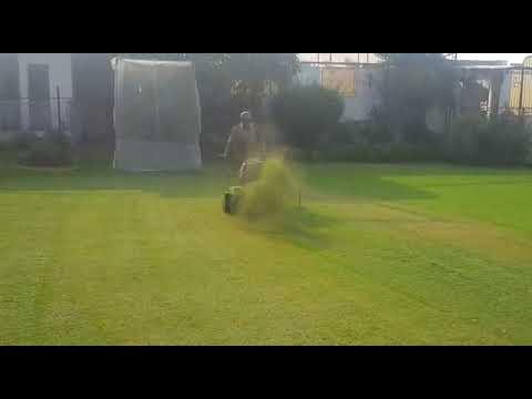 Lawn Master with Diesel Engine Mower