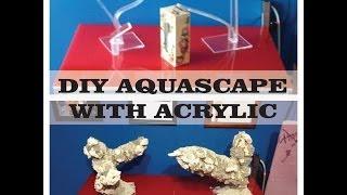 DIY Aquascape With ACRYLIC