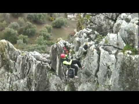 Der Klettersteig von Gaucín
