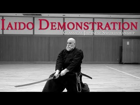 Learn Classical Japanese Sword Iaido Online With Shinkan Ryu Kenpo