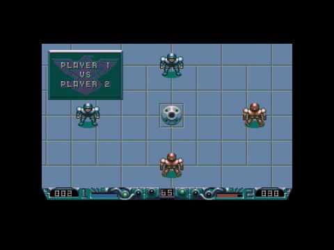 MY THUMB HURTS!! Speedball 2 Brutal Deluxe (SEGA MegaDrive)