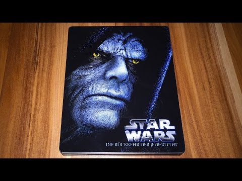 STAR WARS EPISODE 1 - 6 - Steelbook Blu-ray Limited Edition Unboxing