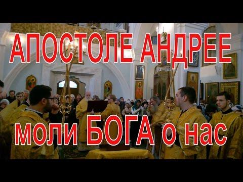 Молитва Апостолу Андрею Первозванному чтомая митрополитом Павлом
