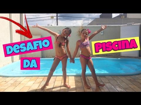 DESAFIO DA PISCINA - LADY GAGA APARECEU???