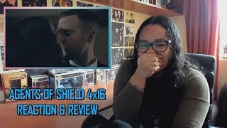 "Marvel's Agents Of SHIELD 4x16 REACTION & REVIEW ""What If..."" S04E16 