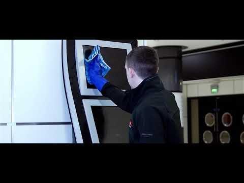 Tutoriel d'utilisation : les lavettes microfibres Hygen™ - RUBBERMAID