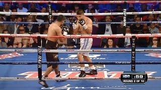 Knockout Mikey Garcia vs Jonathan Victor Barros /Нокаут Мигель Гарсиа vs Джонатан Виктор Баррос