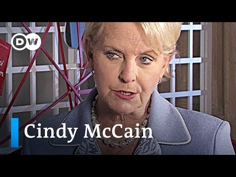 John McCain helped shape democracy in Georgia and Ukraine - Interview with Cindy McCain