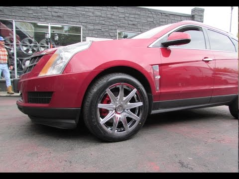 2012 CADILLAC SRX WITH 20 INCH CHROME RIMS &TIRES
