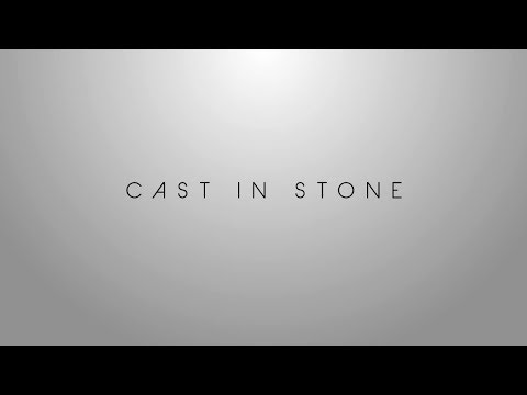 Ron Moor - Cast In Stone (Official Lyric Video)
