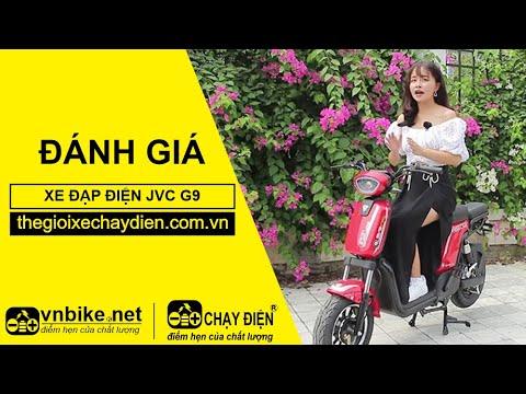 Đánh giá xe đạp điện JVC G9 - Dẫn Đầu Công Nghệ Xe Điện